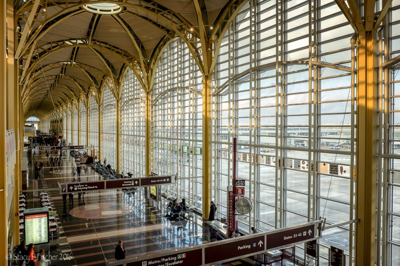 Ronald Reagan National Airport Terminal C Interior