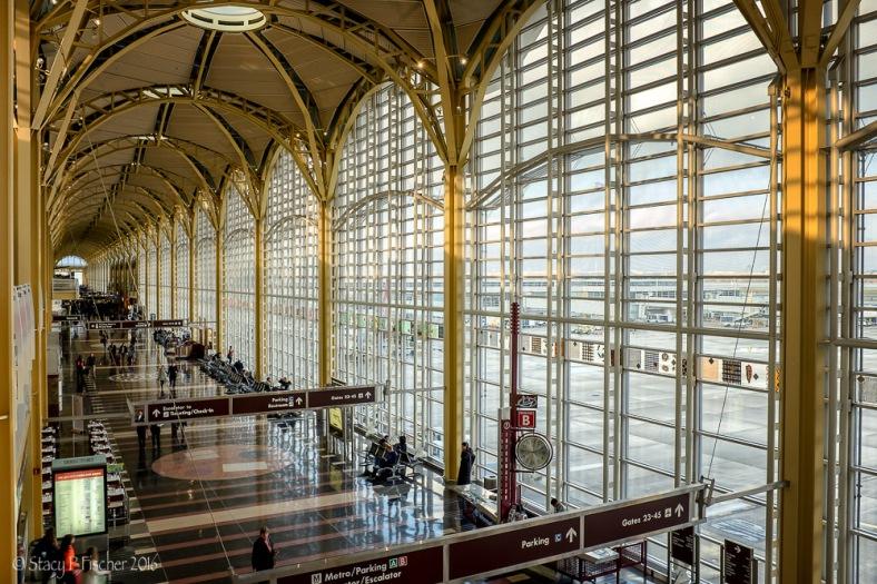 Ronald Reagan National Airport Terminal C Interior
