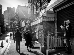 Chinatown, Mott Street, New York City