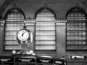 Grand Central Station clock, New York City