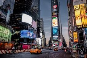Dawn, Times Square
