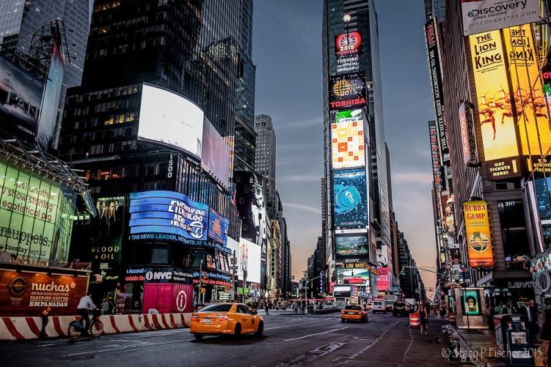 Times Square, Dawn