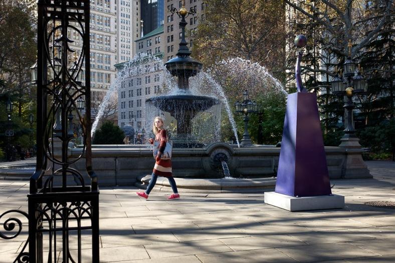Mould Fountain, City Hall Park, Lower Manhattan, New York City