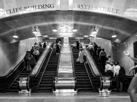 Grand Central Station escalators 54th Street
