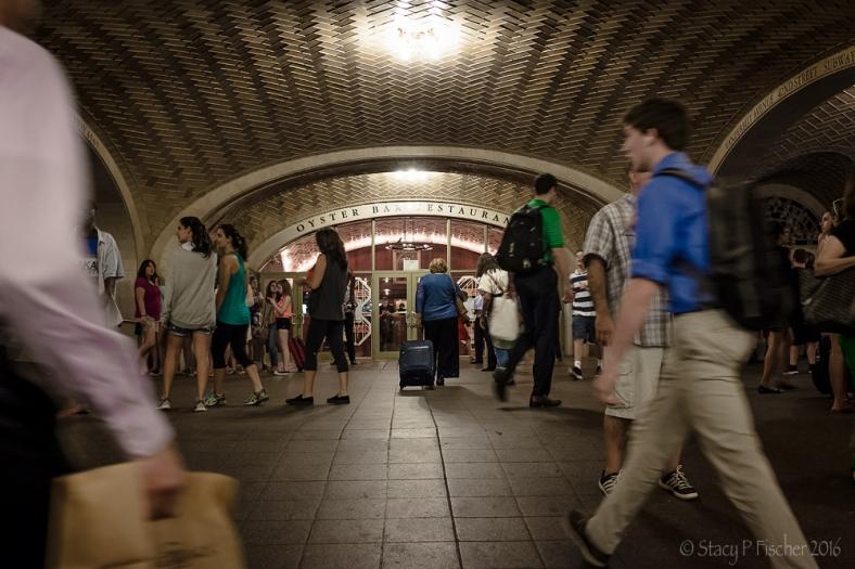 Oyster Bar Entrance Grand Central Station