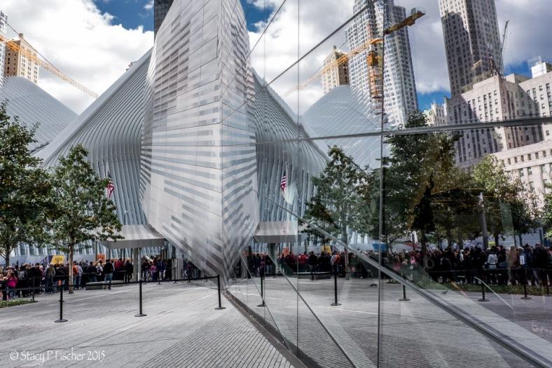 9-11 Memorial Entrance